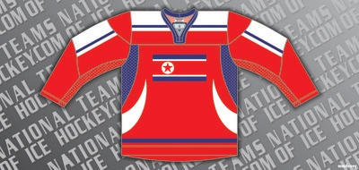 North Korea Ice Hockey Jersey